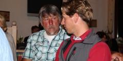 Bundessektionsleiter Herbert Siess mit Liga-Obmann Stefan Brandlehner