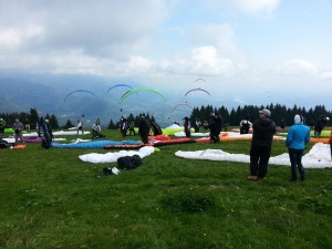 Start beim Alpen Cup in Feltre