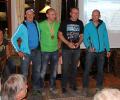 4 Landesmeister: v.l.n.r. Alois Resinger (T), Michael Pohl (K), Markus Smeykal (OÖ), Franz Grünwald (S)