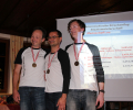 XContest 2013 Mannschaft: 3. OÖ FSV Bodenlos (v.l.n.r.: Stefan Aufischer, Andreas Preininger, Alexander Robé)