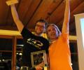 Gewinner Liga 2013: v.l.n.r.: 1. Stephan Gruber, 3. Armin Eder (nicht im Bild: 2. Alexander Schalber)